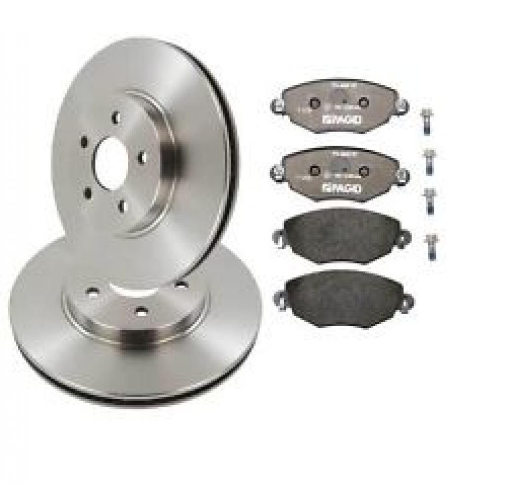 Kit discuri si placute Opel Astra H 5 prezoane 280 mm BOSCH
