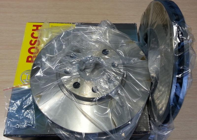 Set discuri frana fata Opel Astra H 308 mm BOSCH