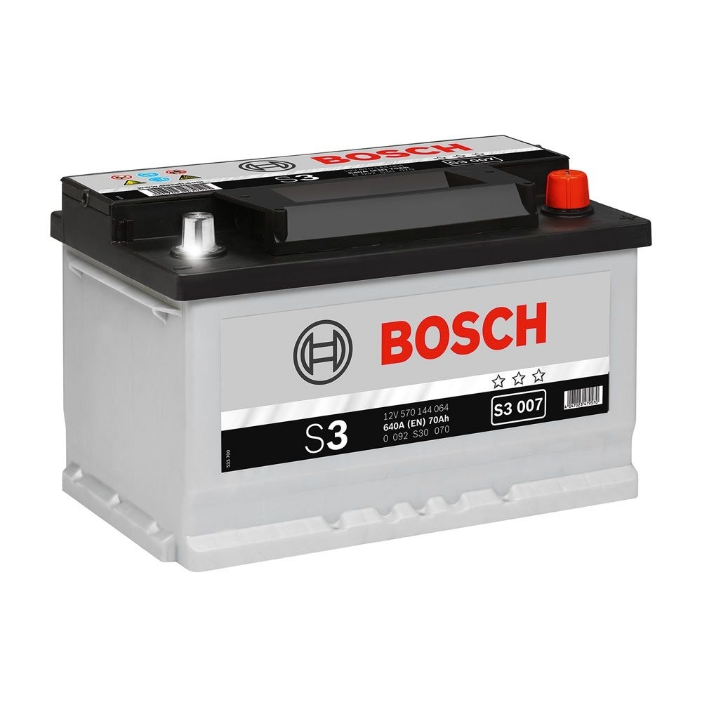 Acumulator auto BOSCH S3 70Ah/640A Piese auto Chevrolet