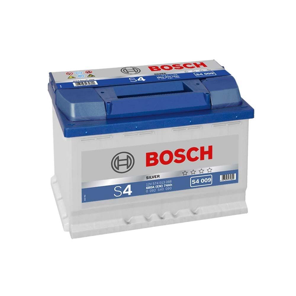 Acumulator auto BOSCH S4 74Ah/680A borna inversa
