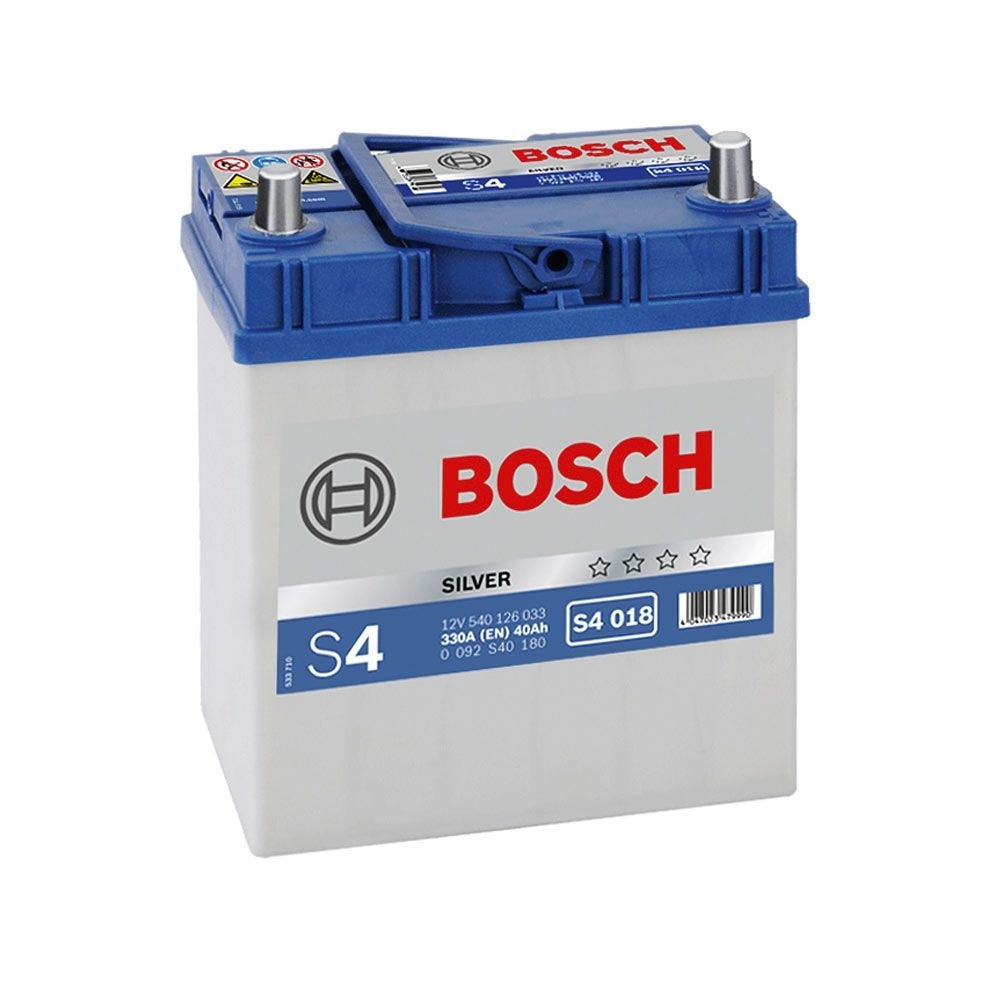 Imagine Acumulator Auto Bosch S4 40ah/330a Tico Matiz