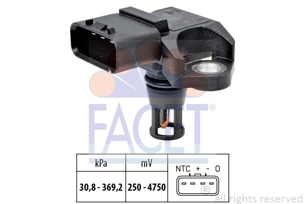 Senzor presiune si temperatura aer Opel Astra J A17DTJ FACET