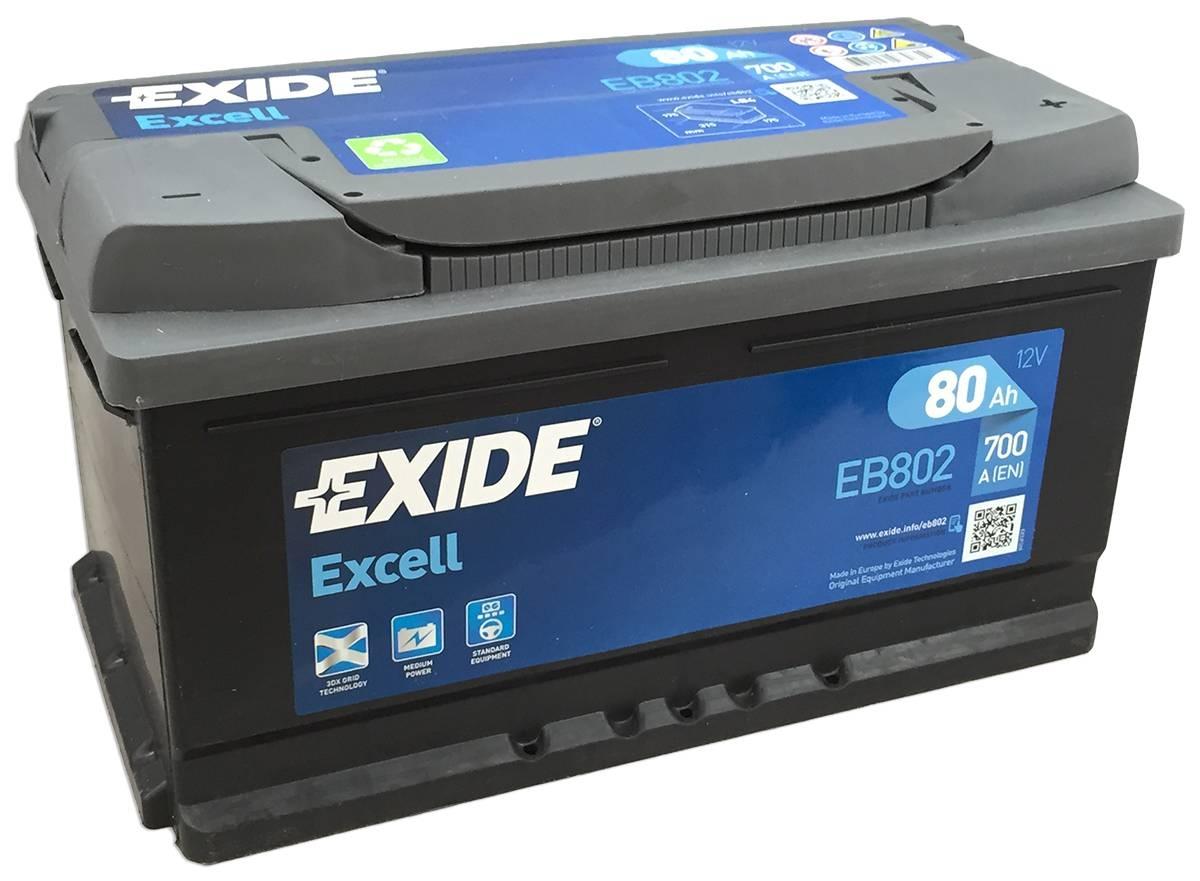 Baterie auto EXIDE S4 80Ah/740A