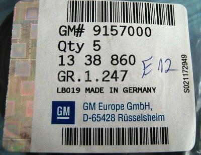 Garnitura Termostat Opel Astra G Gm