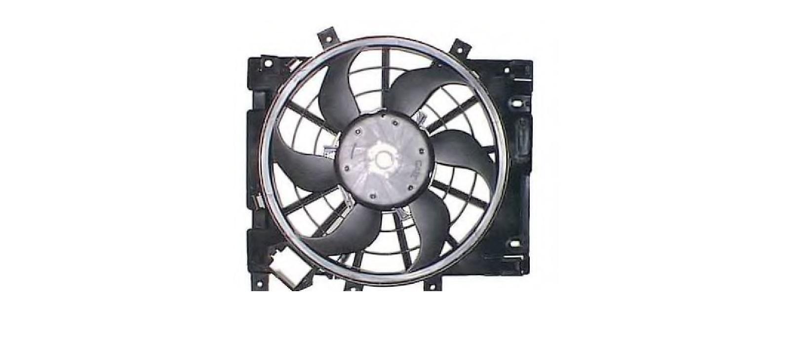 Ventilator radiator OPEL ASTRA H NRF