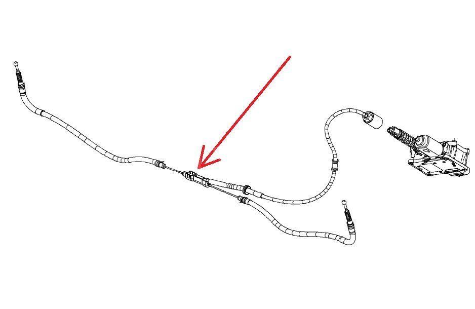 Cablu frana mana Opel Astra J hatchback GM