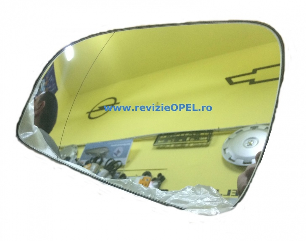 Geam oglinda stanga incalzit Opel Astra H dupa 2010 GM
