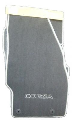 Set covorase mocheta Opel Corsa D GM cu inscris CORSA