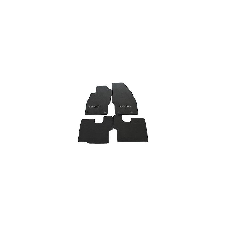 Covorase Mocheta Contur Negru Opel Corsa D Gm