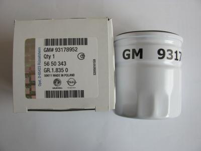 Filtru ulei metalic Opel Astra H Z16XEP GM