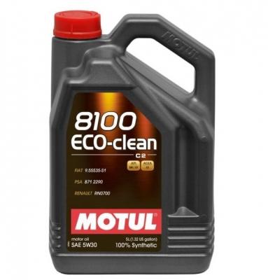 Ulei motul 8100 Eco-CLEAN 5W30 C2 5L