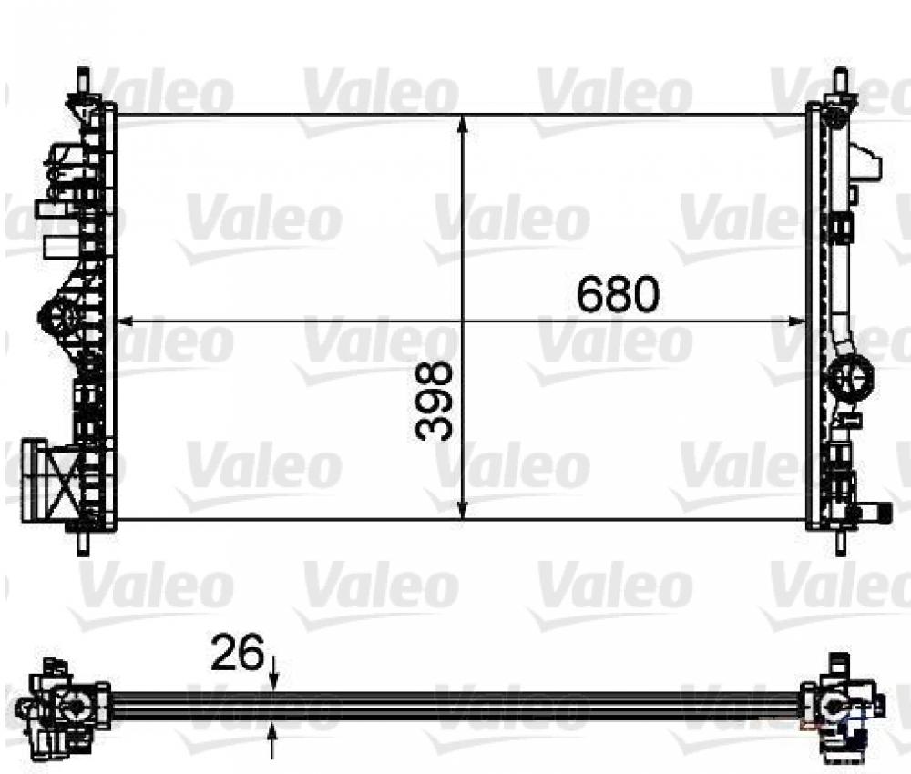 Radiator racire Opel Insignia Diesel producator Valeo