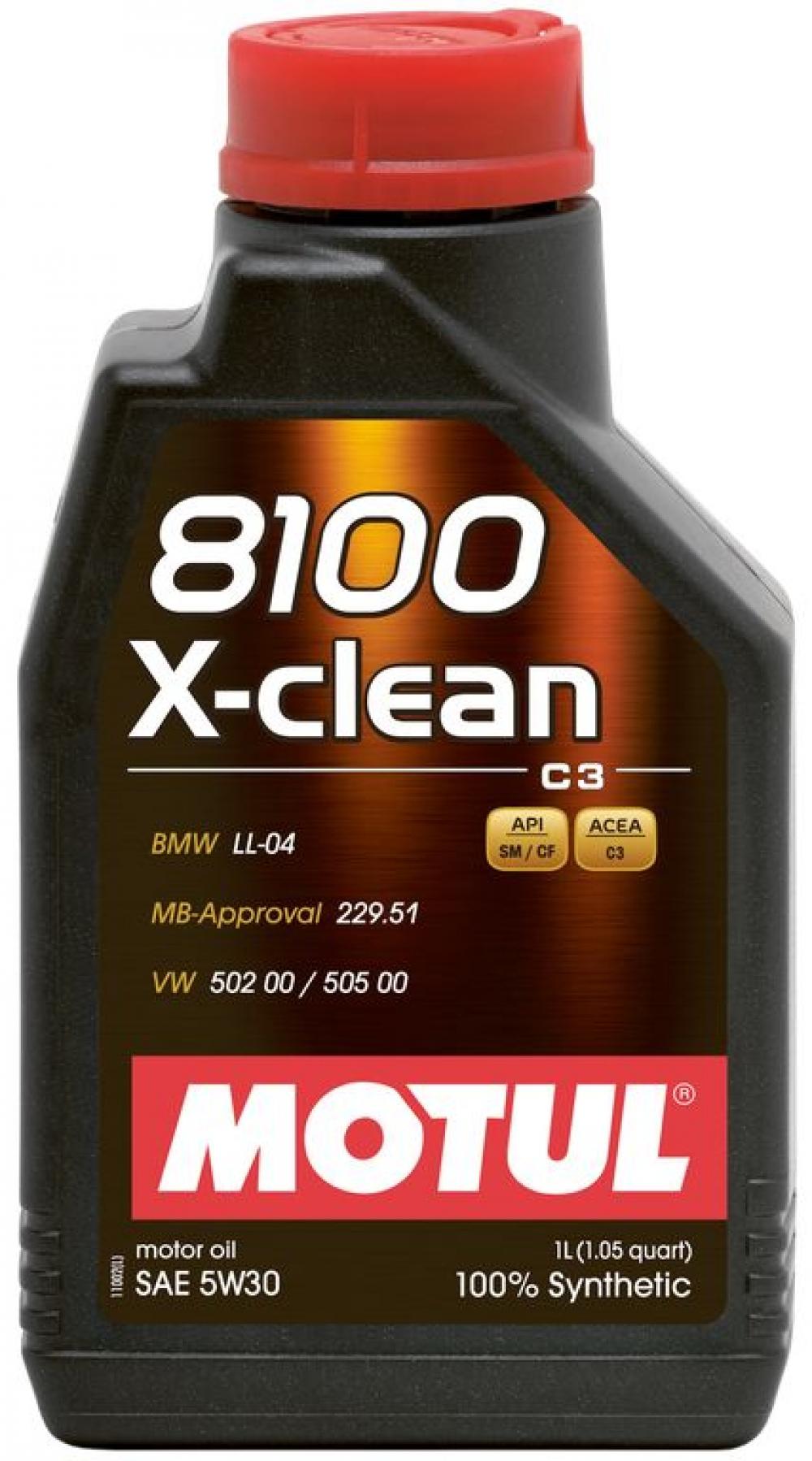 Ulei Motul 8100 X-CLEAN 5W30 1L
