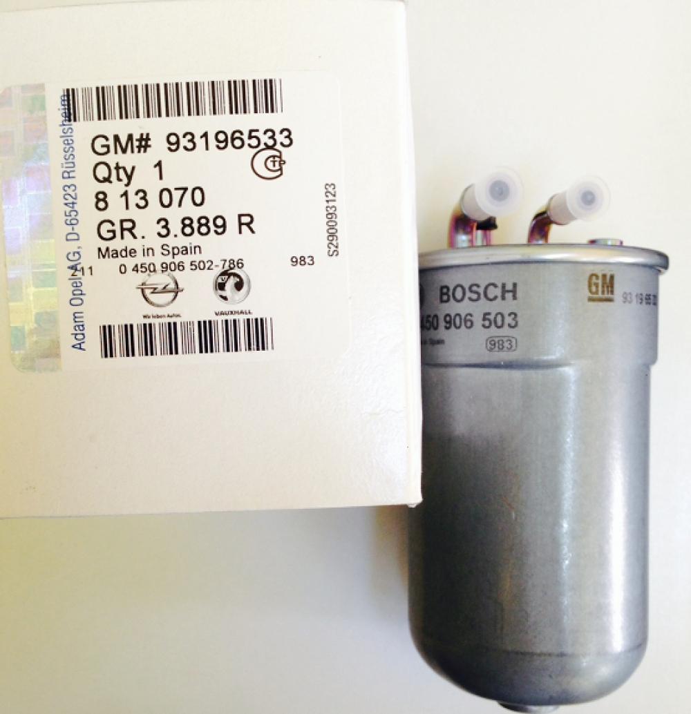 Filtru Combustibil Opel Corsa D A17dts Gm