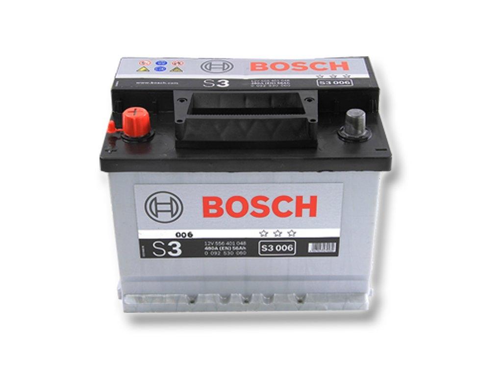 Baterie Auto Bosch S3 56ah/480a Borna Inversa