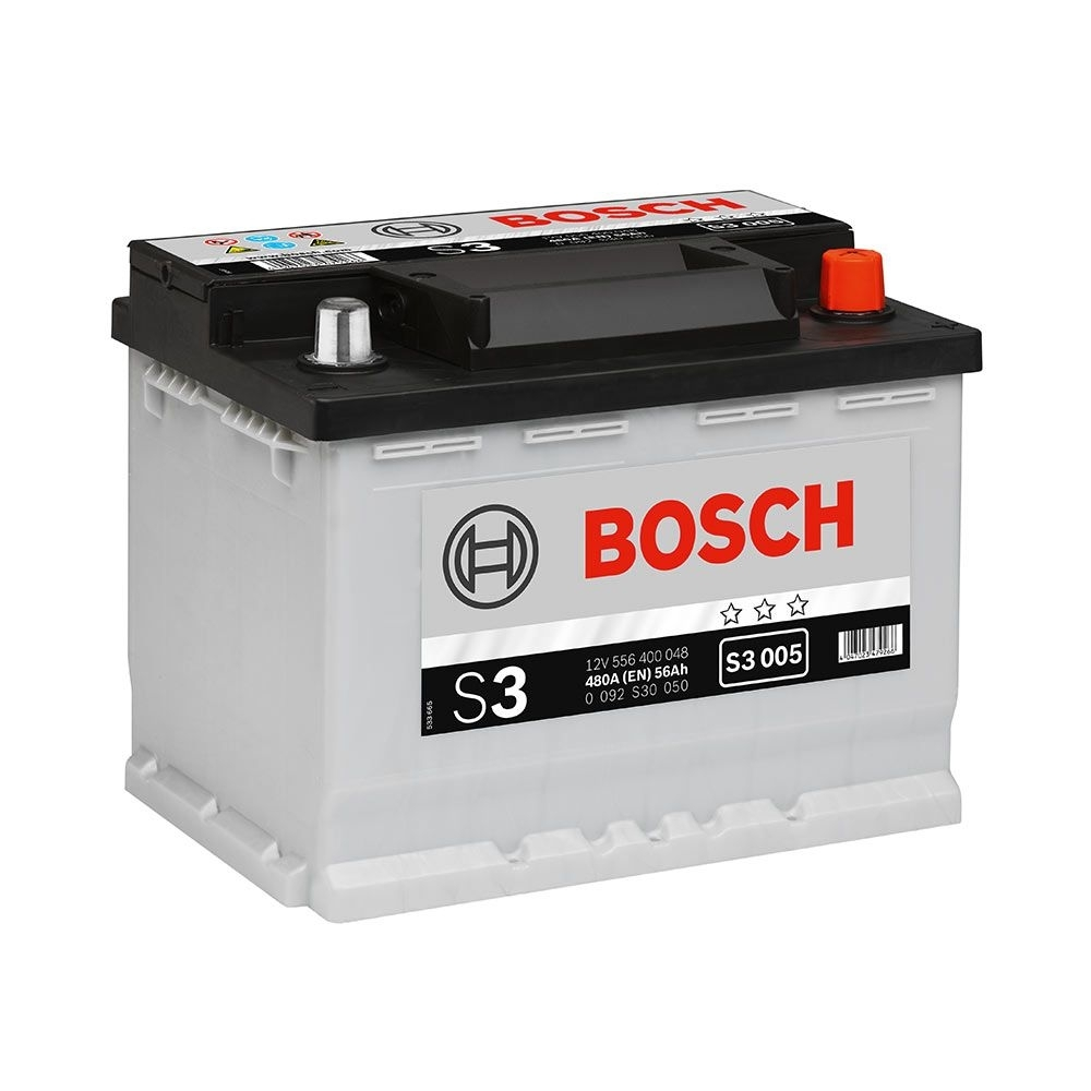 Acumulator auto BOSCH S3 56Ah/480A Piese auto Chevrolet