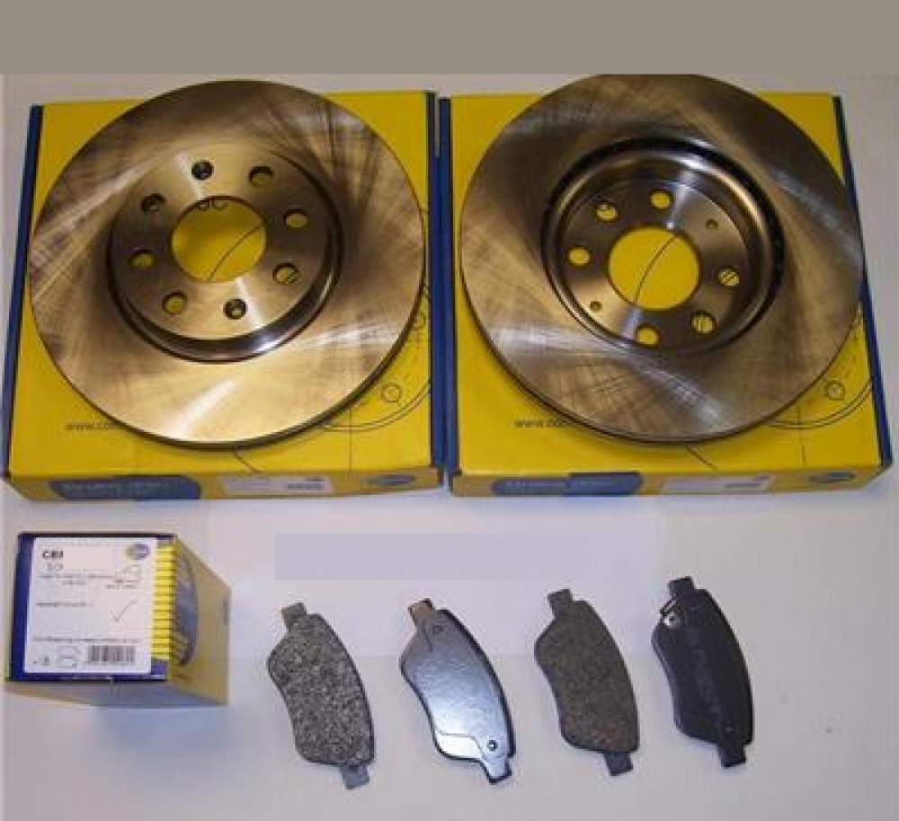 Kit discuri si placute Opel Astra H 5 prezoane 280 mm producator Comline