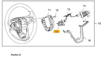Swich cruise control Opel Astra J GM