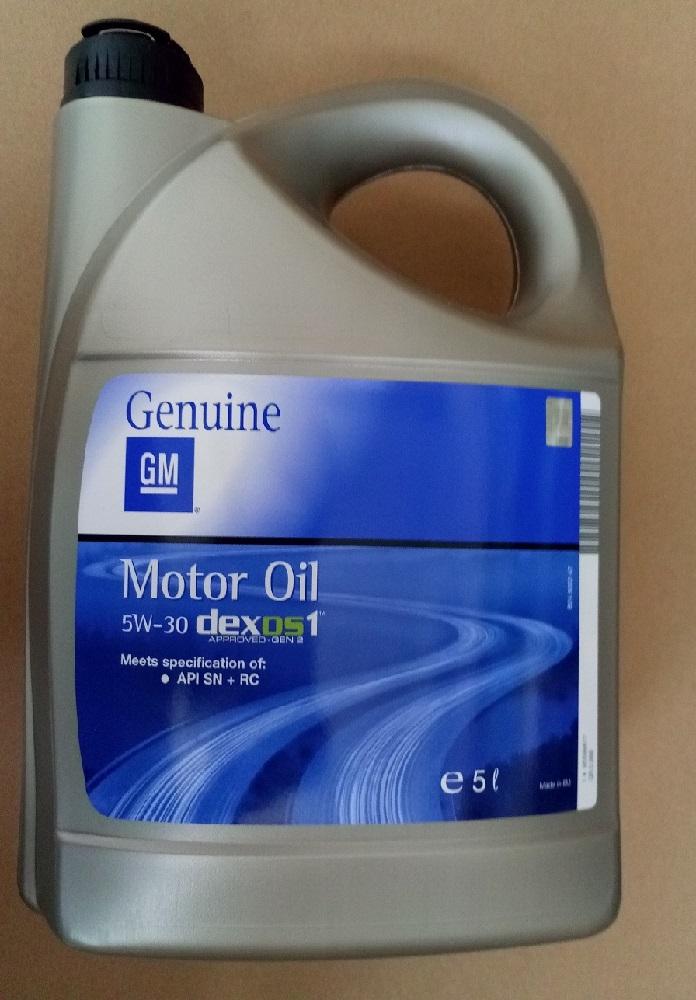 Ulei GM 5w30 DEXOS1 5L original GM