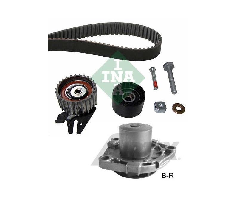 Kit distributie cu pompa apa Opel Insignia A20DTH INA + AIRTEX