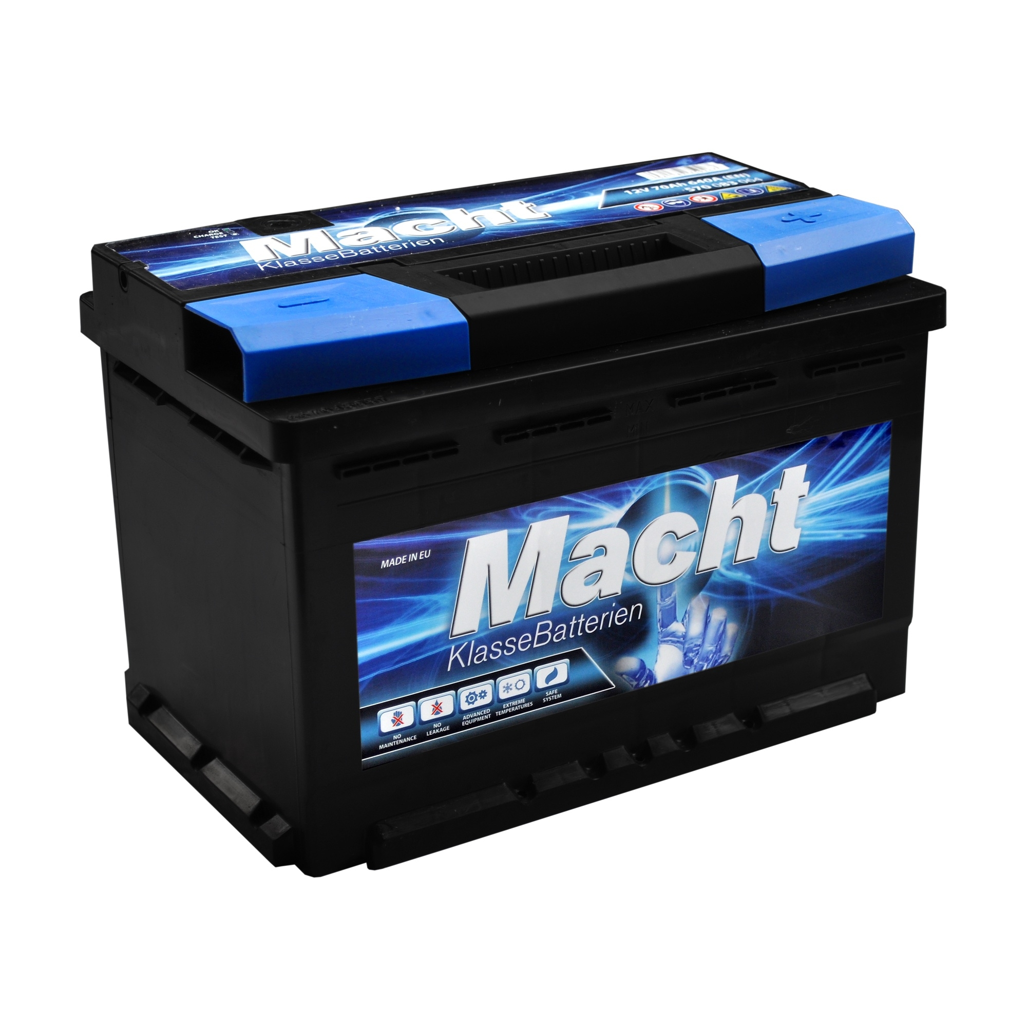 Acumulator auto MACHT 12V 70 Ah 580A