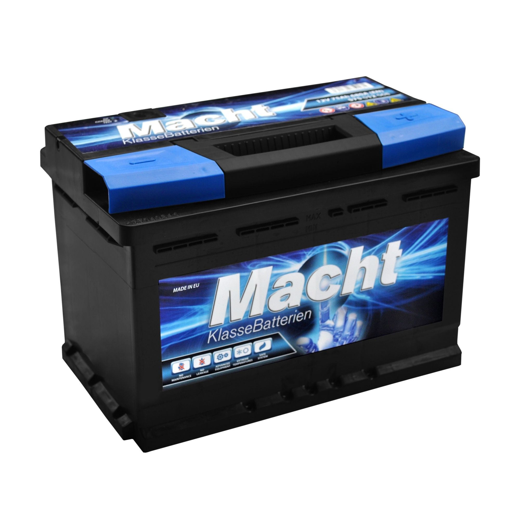 Acumulator auto MACHT 12V 75 Ah 680A