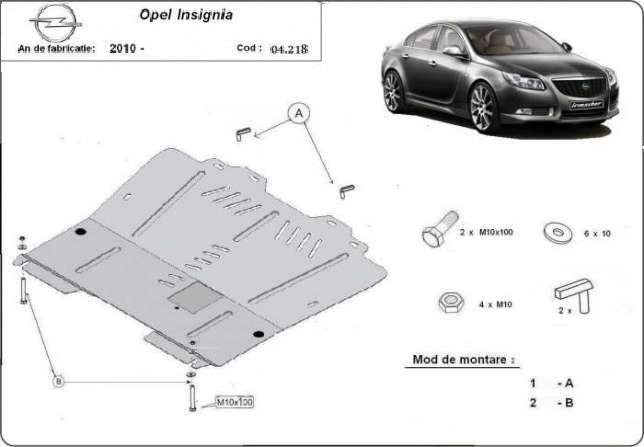 Scut motor metalic Opel Insignia dupa 2009
