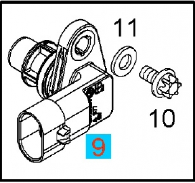 Senzor rotatie ax came Zafira B Z19DTL