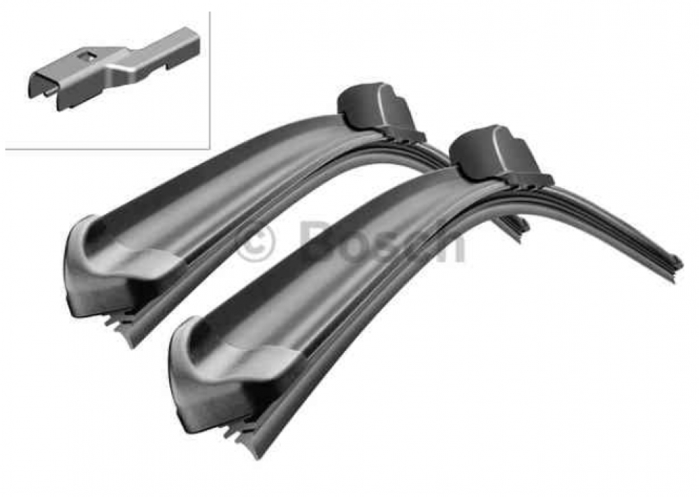 Set lamele stergator parbriz Opel Astra J originale BOSCH