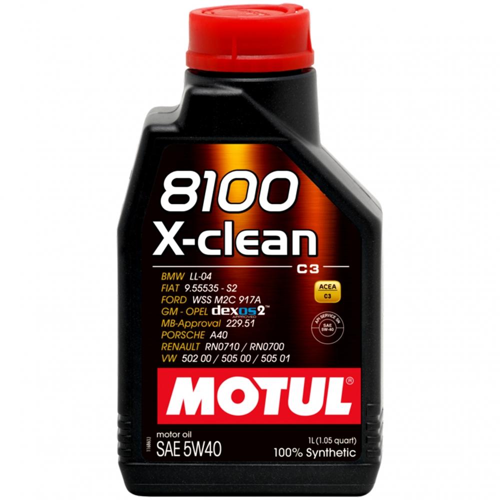 Ulei Motul 8100 X-CLEAN 5W40 1L