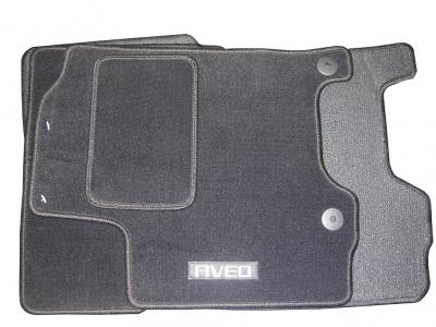 Set covorase mocheta negre Chevrolet Aveo / Kalos originale GM