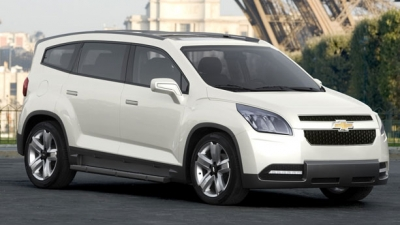 Kit Suport Roata De Rezerva Exterior Chevrolet Orlando