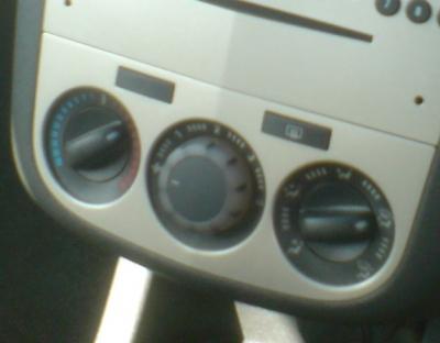 Comanda climatizare Opel Corsa D
