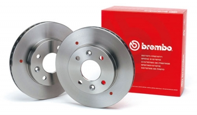 Set discuri frana spate Opel Astra H Brembo