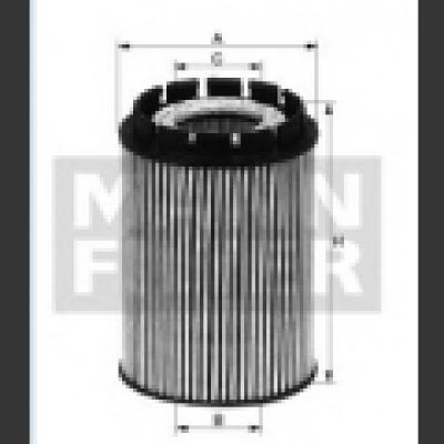 Filtru Ulei Lung Opel Astra G Z14xep Mann
