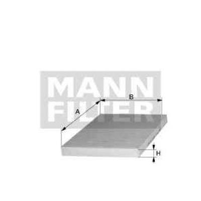 Filtru Polen Patrat Opel Astra G Z14xep Producator Mann