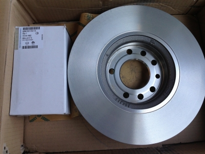 Kit discuri si placute Opel Astra H 5 prezoane 280 mm GM