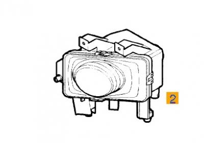 Proiector ceata Astra H original GM