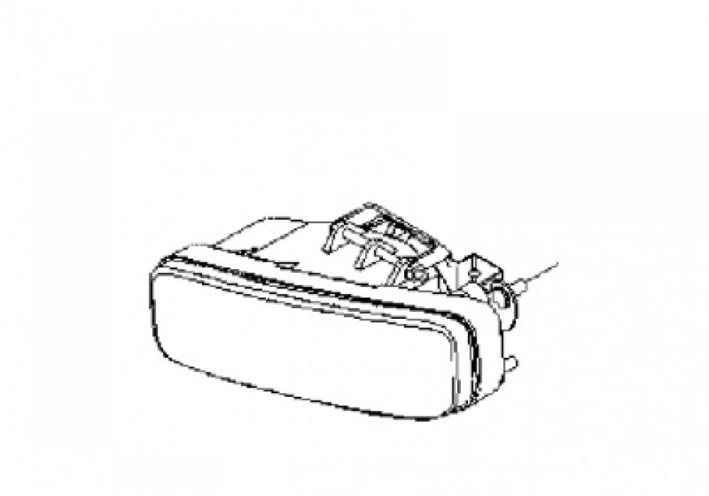 Proiector Ceata Dreapta Chevrolet Kalos