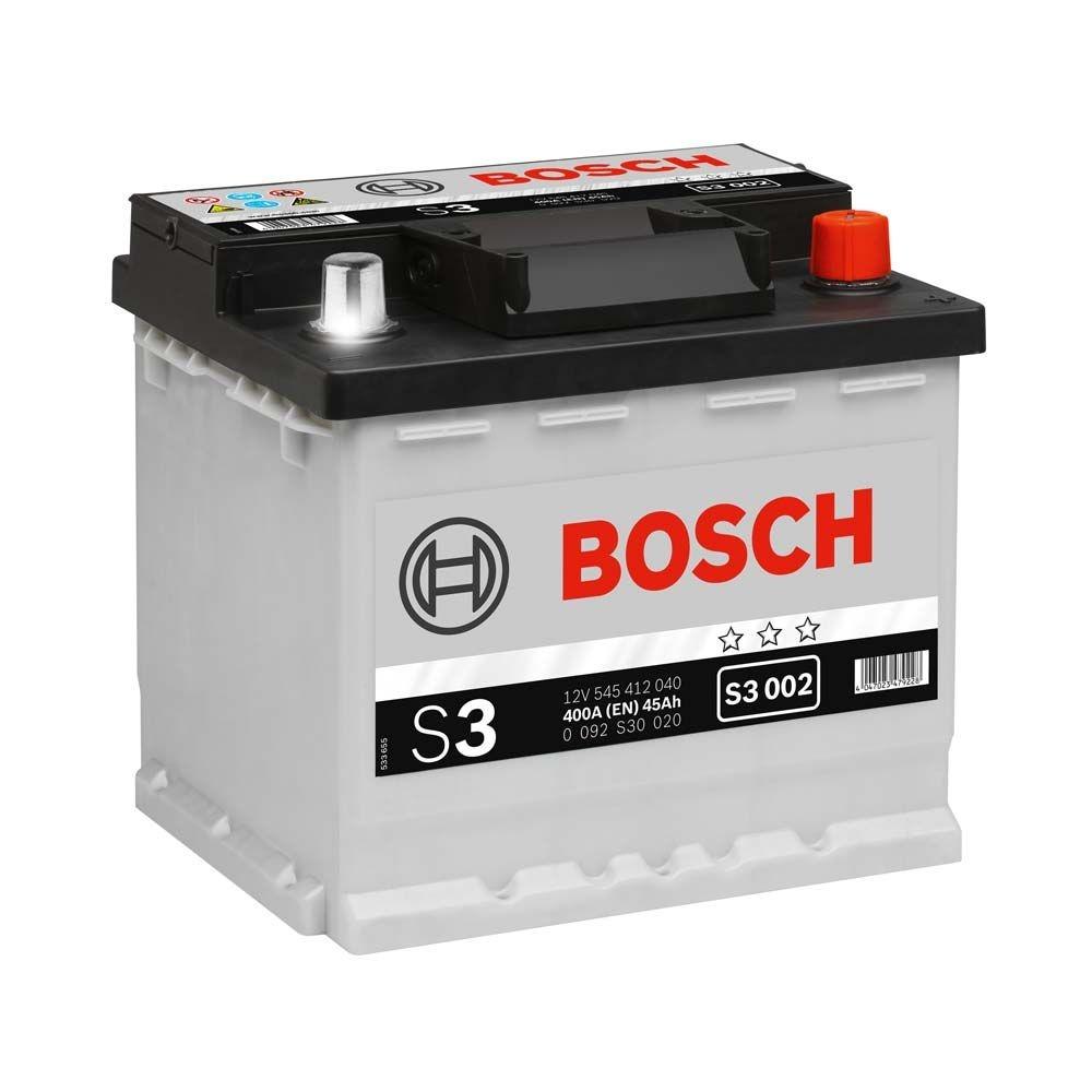 Baterie Auto Bosch S3 45ah/400a