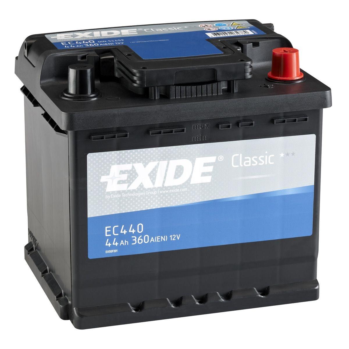 Baterie auto EXIDE S3 45Ah/400A