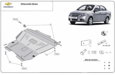 Scut motor Chevrolet Aveo / Kalos GM