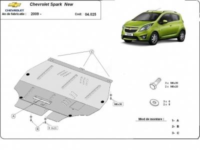 Scut Motor Chevrolet Spark New